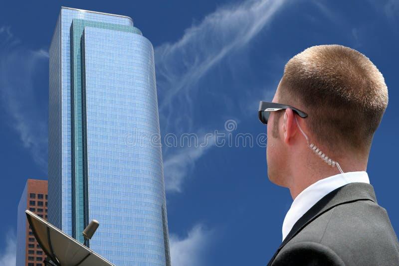 agent ochrony nadzoru obraz stock