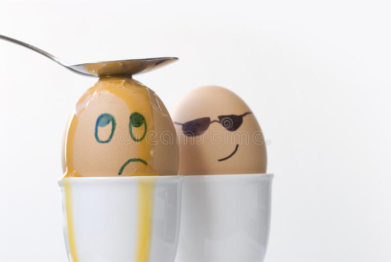 Agent secret Egg 3 photo libre de droits