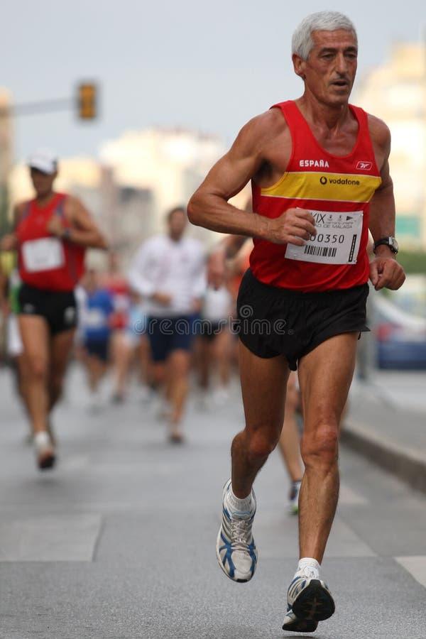 Agent van de stad van het stedelijke ras 2007 van Malaga royalty-vrije stock foto