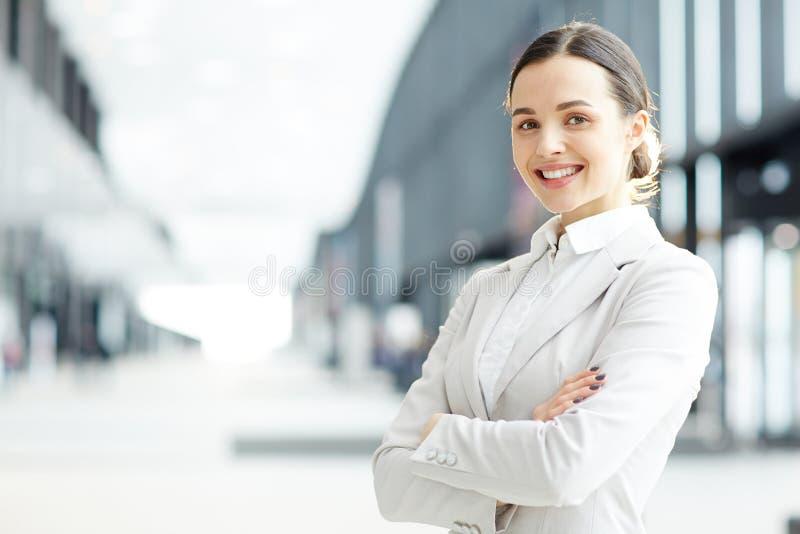 Agente bonito imagem de stock
