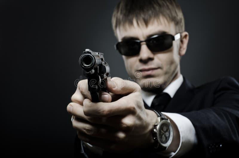 agente del Especial-servicio foto de archivo libre de regalías