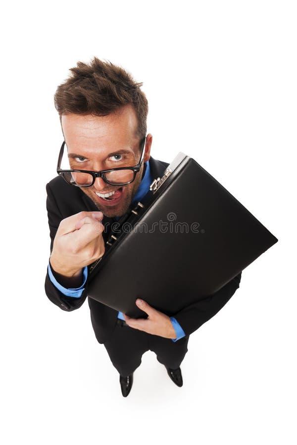 Agente fiscal fotografía de archivo