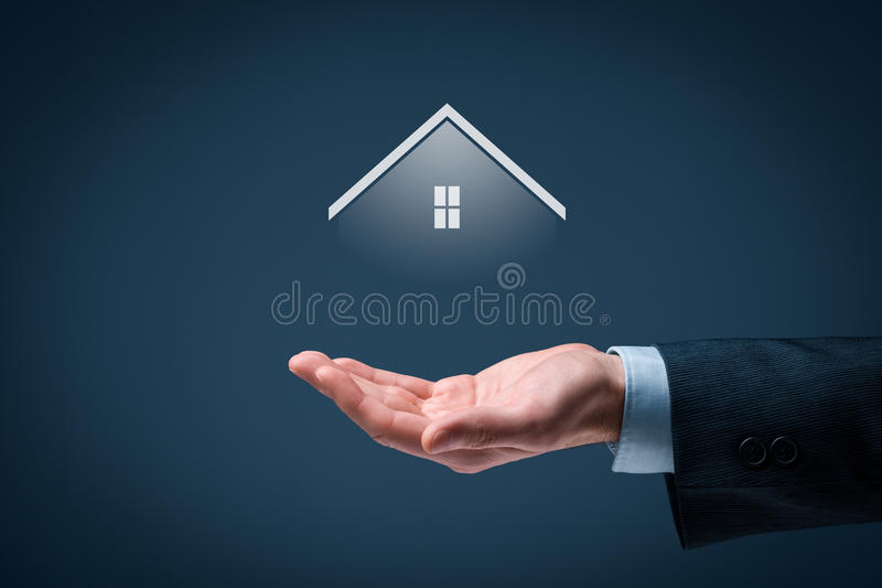 Agente immobiliare fotografie stock libere da diritti