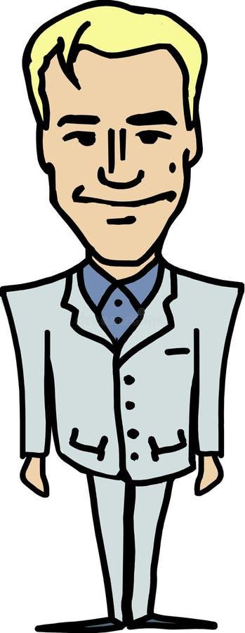 Download Agente inmobiliario ilustración del vector. Ilustración de vector - 7279284