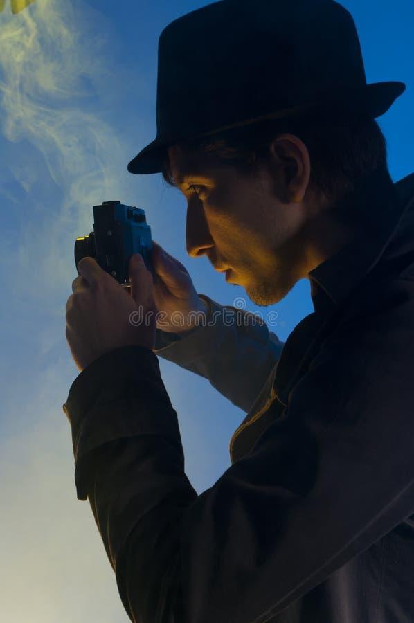 Agente investigativo privato fotografie stock libere da diritti