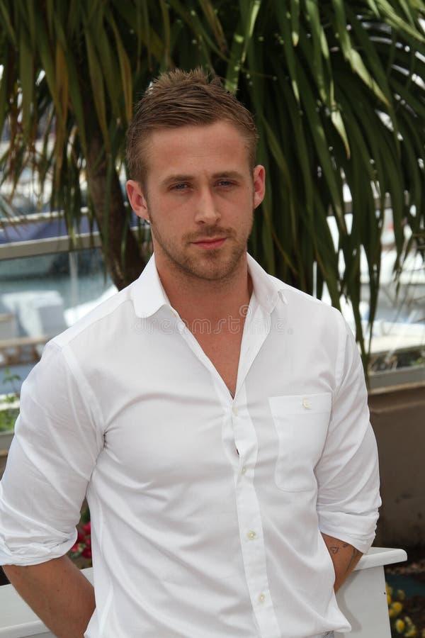 Agente Ryan Gosling fotografía de archivo