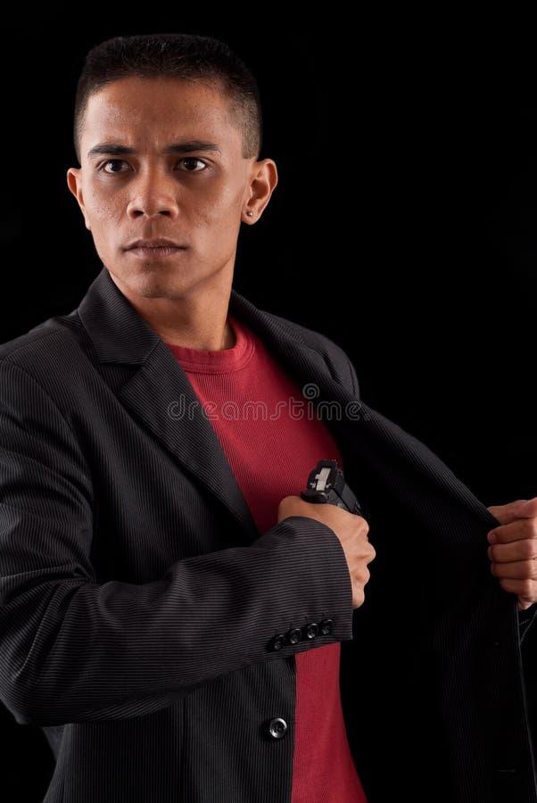 Agente secreto fotografia de stock