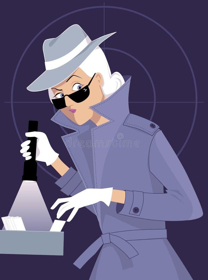 Agente secreto libre illustration