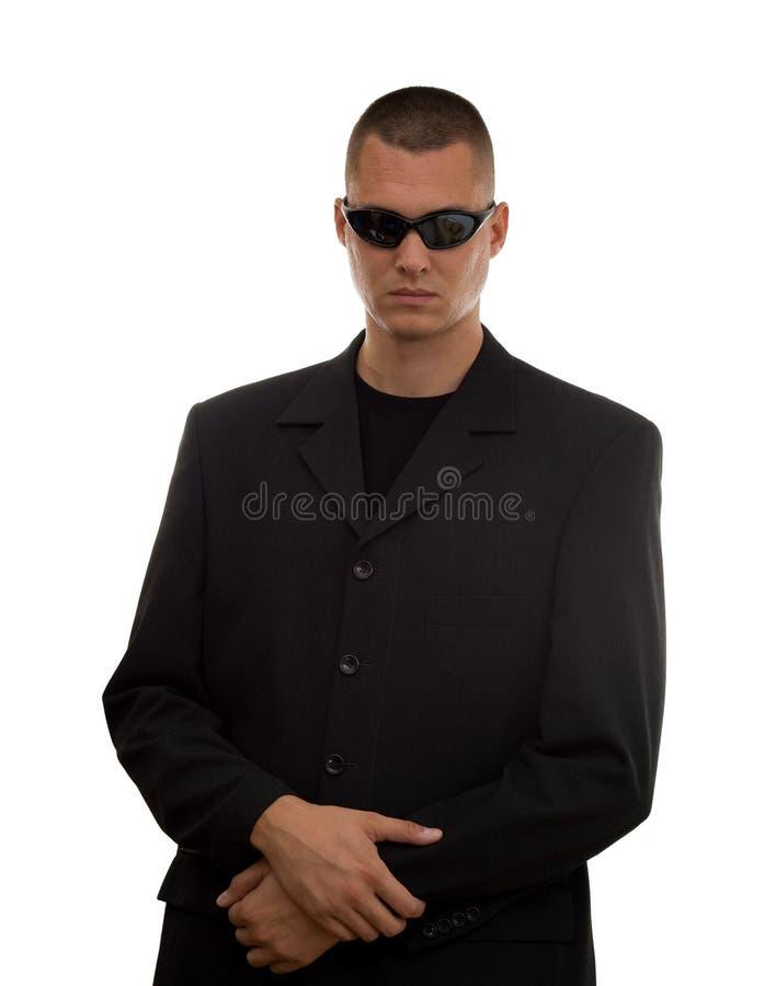 Agente segreto fotografie stock