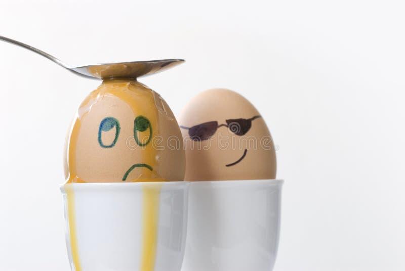 Agente segreto Egg 3 fotografia stock libera da diritti