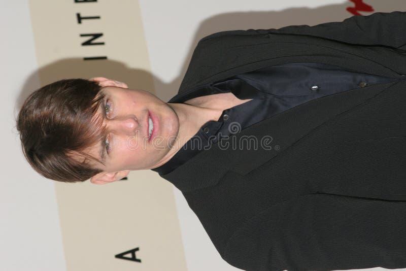 Agente Tom Cruise fotografía de archivo libre de regalías