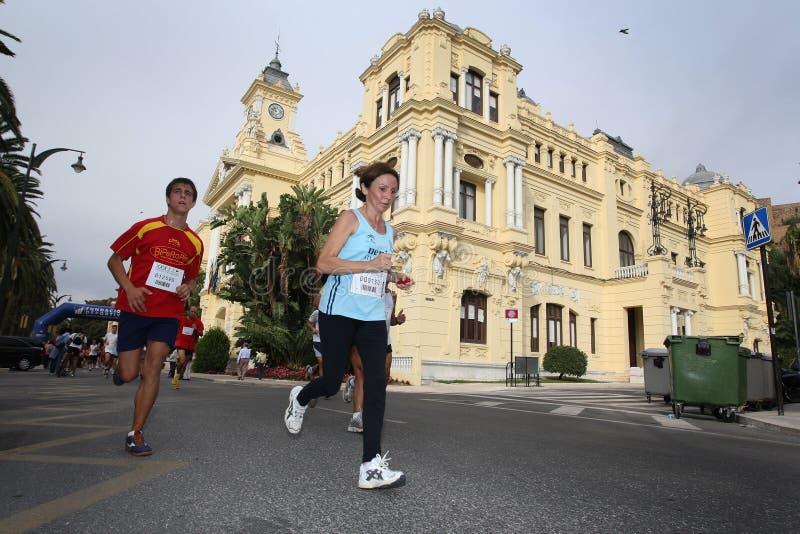 Agenten van de stad van het stedelijke ras 2007 van Malaga royalty-vrije stock afbeelding