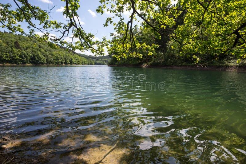 aggertal λίμνη Γερμανία στοκ εικόνες με δικαίωμα ελεύθερης χρήσης
