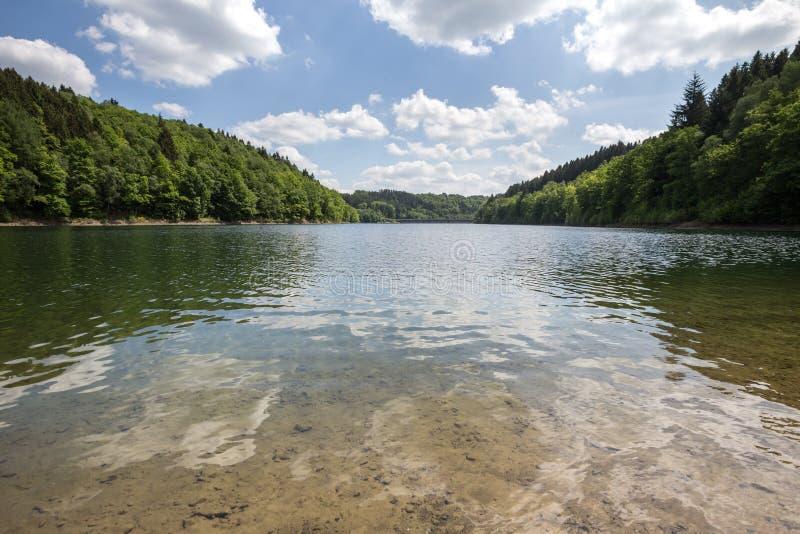 aggertal λίμνη Γερμανία στοκ εικόνα με δικαίωμα ελεύθερης χρήσης