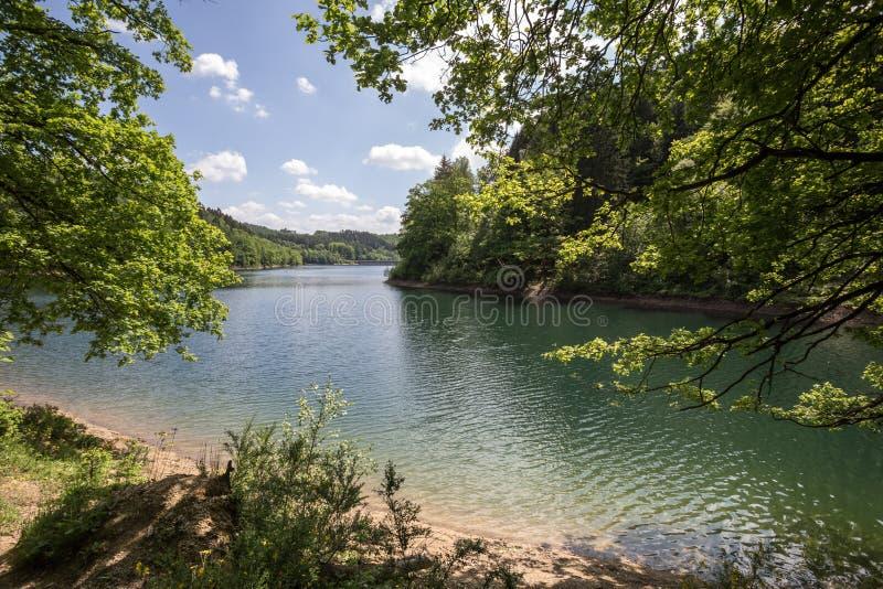 aggertal λίμνη Γερμανία στοκ φωτογραφία με δικαίωμα ελεύθερης χρήσης