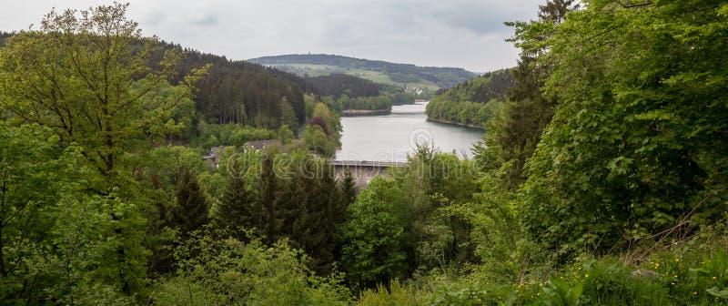 aggertalsperre Γερμανία στοκ φωτογραφία με δικαίωμα ελεύθερης χρήσης