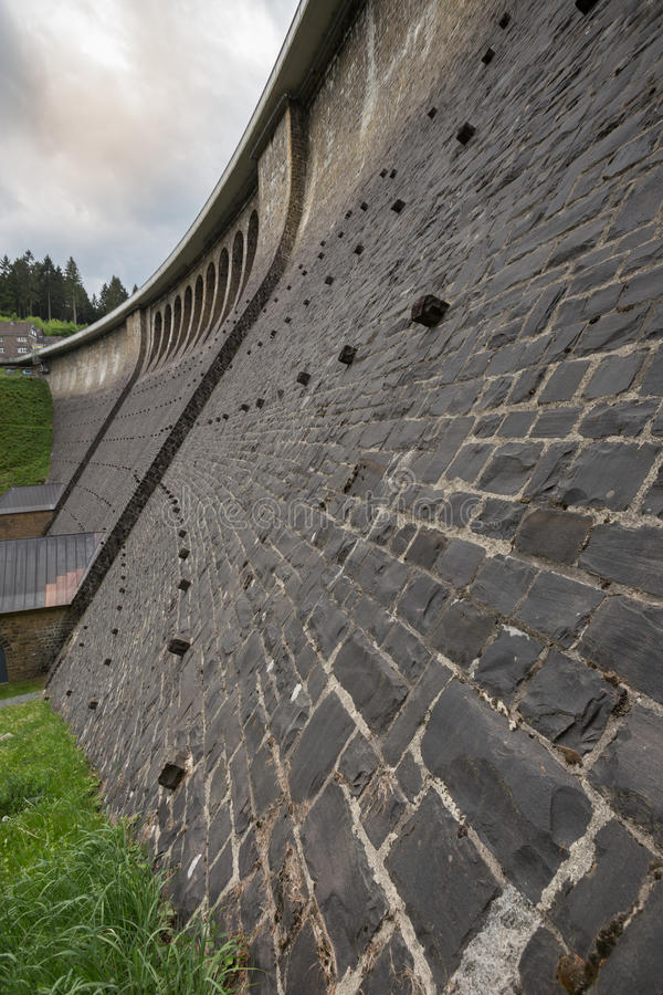 aggertalsperre φράγμα Γερμανία στοκ εικόνες