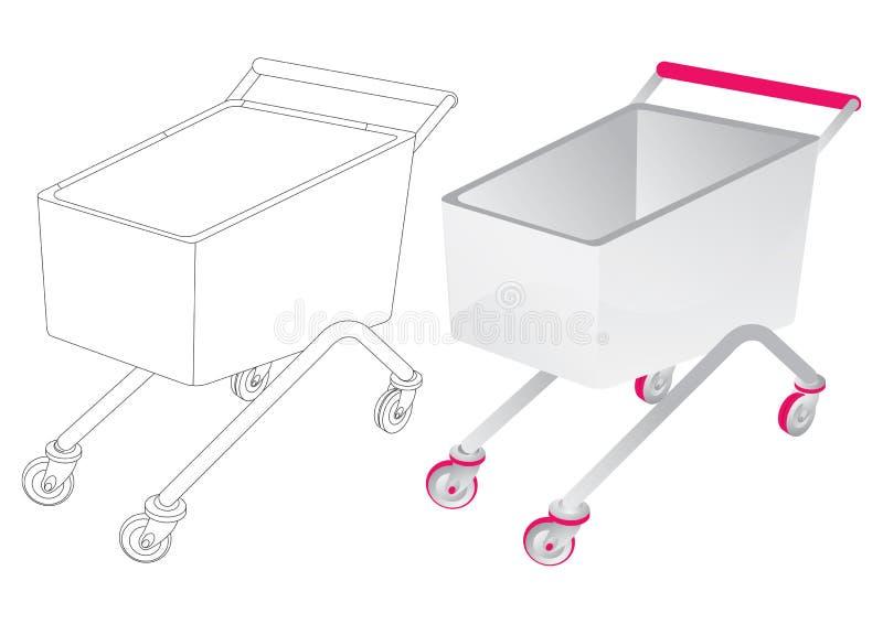 Aggiunga al carrello - vettore illustrazione di stock