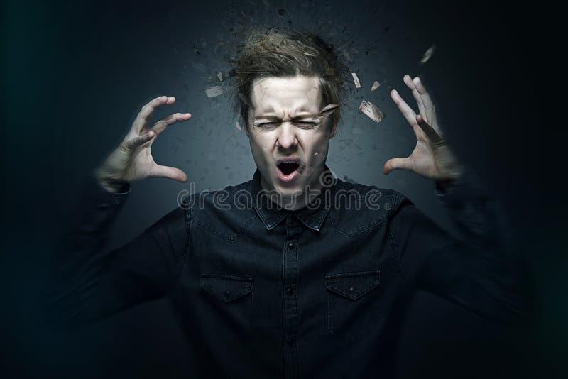 Aggression stock photo