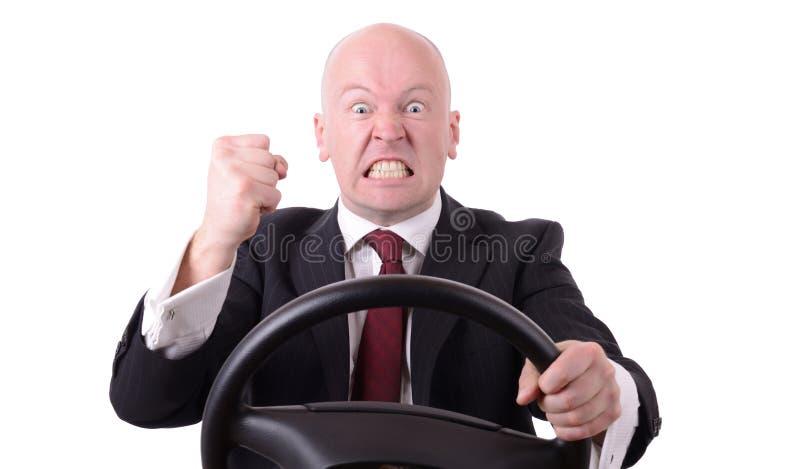 Aggressive Fahrweise stockbild