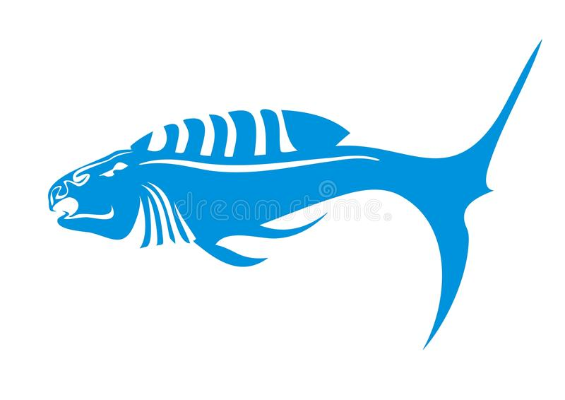 Aggressive Fish Royalty Free Stock Photos