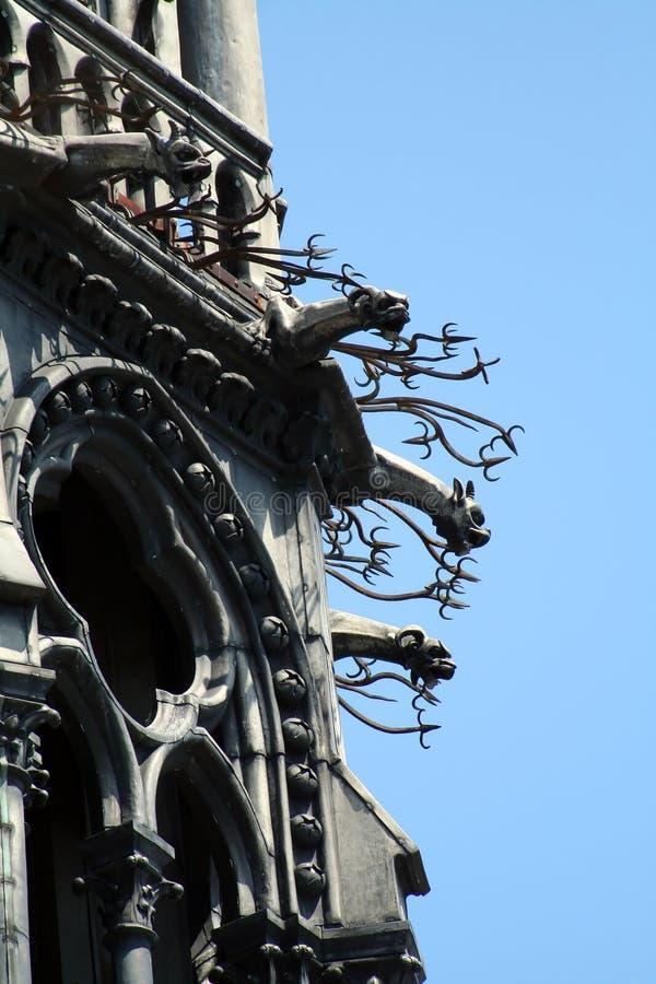 Download Aggressive gargoyles stock photo. Image of tourist, vacation - 1046970