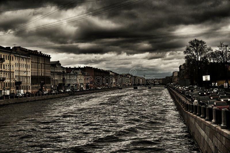 Aggrottare le sopracciglia di Pietroburgo immagine stock libera da diritti