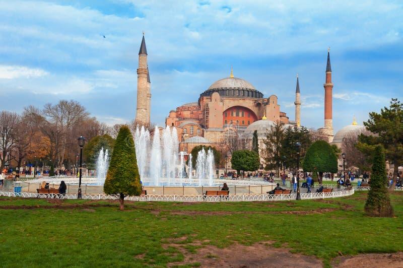Aghia Sophia à Istanbul photos stock