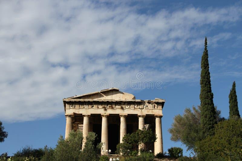 Download Aghora, Athene, Griekenland Stock Foto - Afbeelding bestaande uit hephaestus, peristyle: 107700594