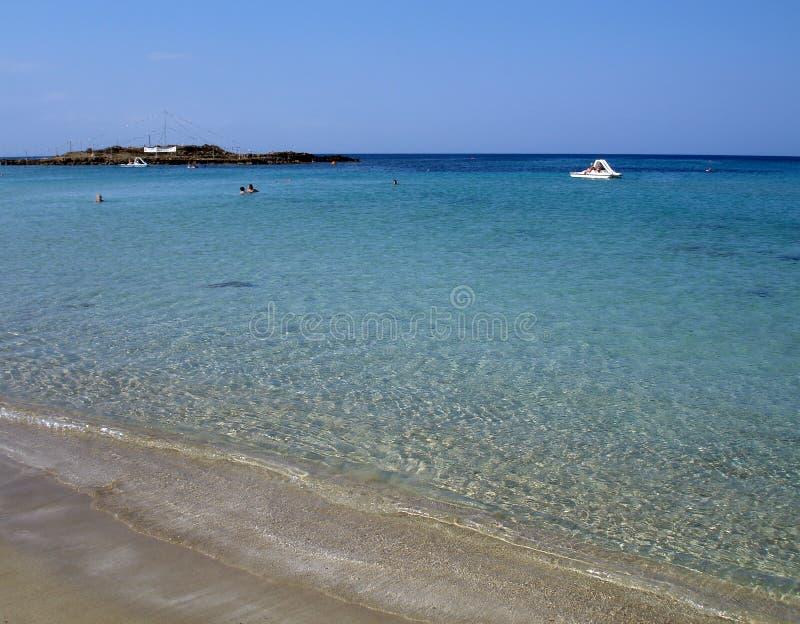 Agia Napa Beach royalty free stock photos