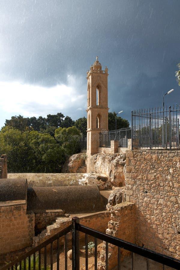 Agia Napa Monastery royalty free stock photo