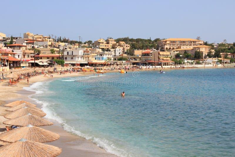 Crete Agia Pelagia royalty free stock photos