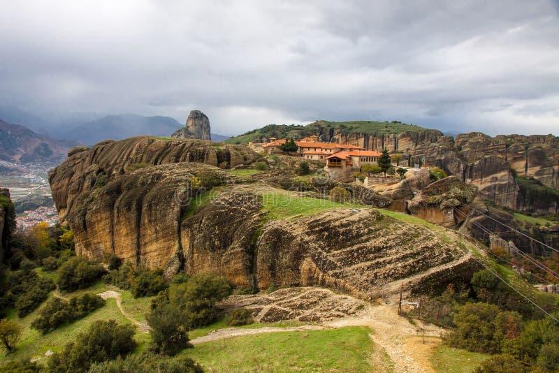 Download Agia Triada Monastery At Meteora, Greece Stock Photo - Image: 29015882