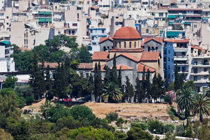 Agia Triada Orthodox Church Athens Greece stock photos