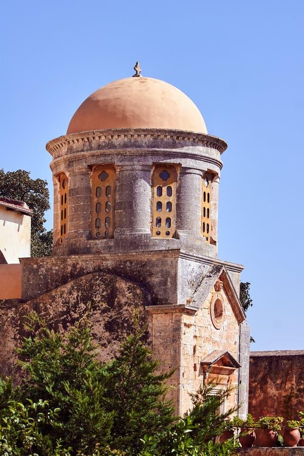 Agia Triada - Orthodox klooster royalty-vrije stock foto