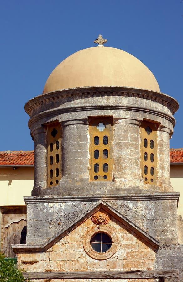 Agia Triada - Orthodox klooster stock afbeeldingen
