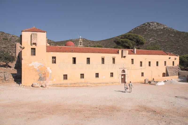 Agia Triada - Stavros - Crete foto de archivo libre de regalías