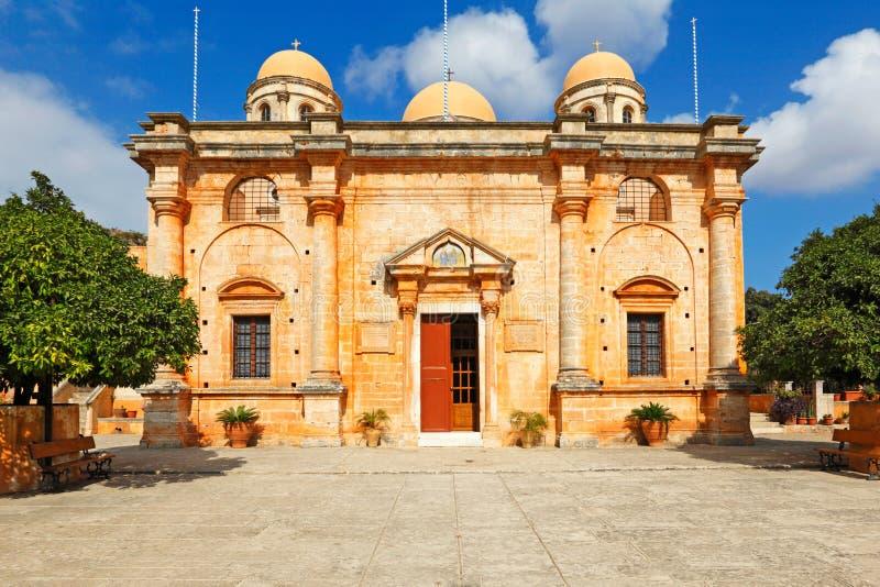 Agia Triada Tsagarolon na Creta, Grécia fotos de stock