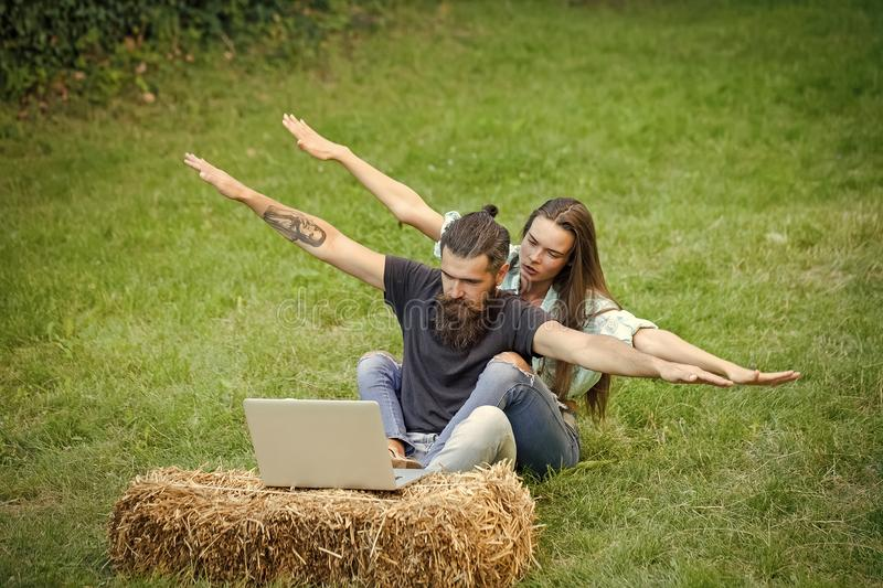 Agile business, youth. stock photo