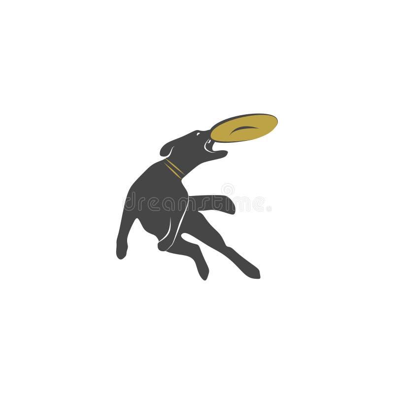 Agilité de chien illustration de vecteur