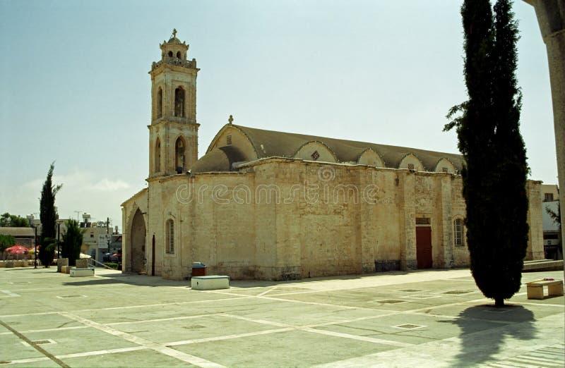 Agios Georgios Church Paralimni, Cypern royaltyfri foto