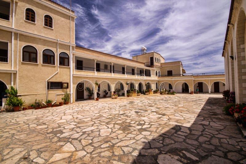 Agios Georgios Monastery, vicino a Limassol, il Cipro immagine stock