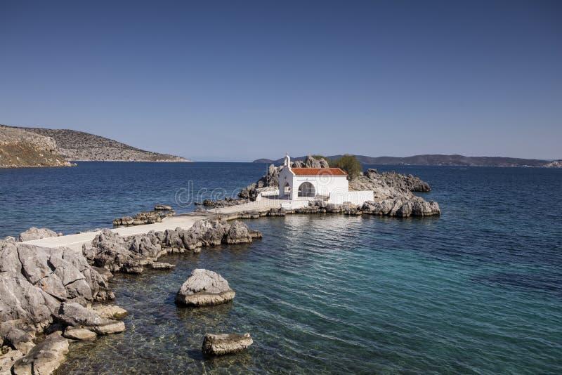 Agios Isidoros chios Grekland arkivfoton
