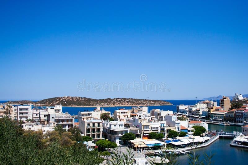Agios Nicholaos lizenzfreies stockfoto