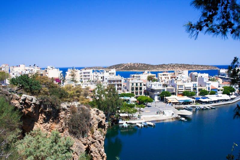 Agios Nicolaos lizenzfreies stockbild