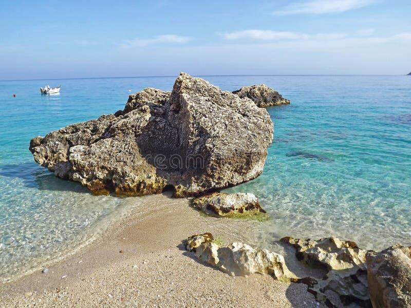 Agios Nikitas Lefkada image libre de droits