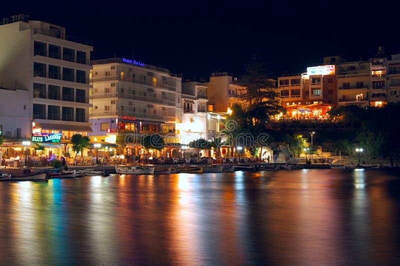 Download Agios Nikolaos editorial stock image. Image of cretan - 20383144