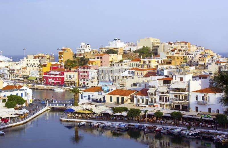 Agios Nikolaos, Crete Royalty Free Stock Photos