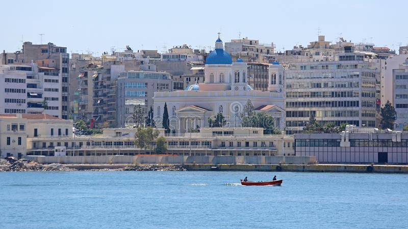 Agios Nikolaos Piraeus fotografia stock