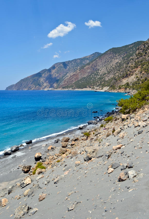 Agios Pavlos beach stock photos